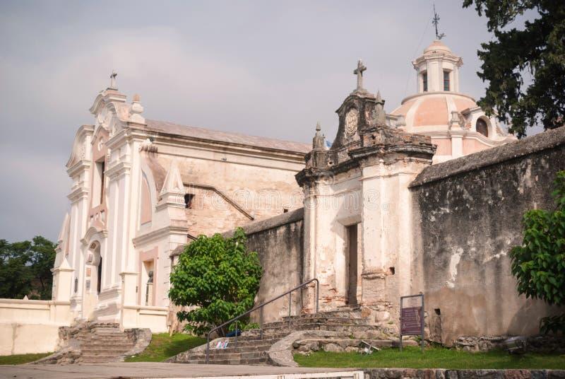 Jesuitkyrka i Alta Gracia royaltyfri bild