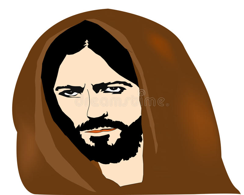 Jesus ilustração stock