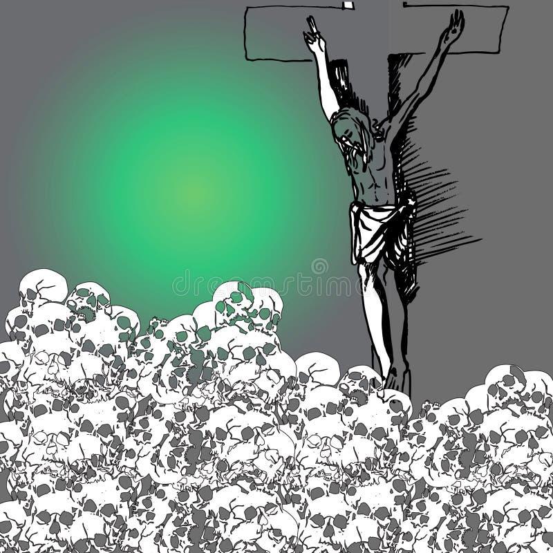 Download Jesus stock vector. Illustration of outline, religion - 11828568