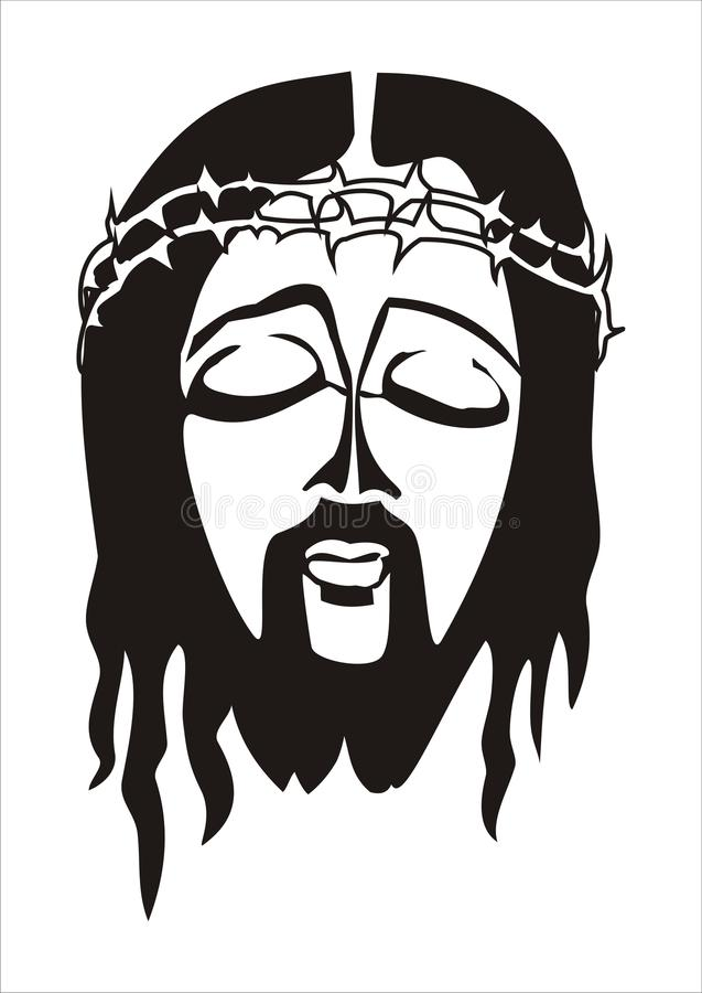jesus royaltyfri illustrationer