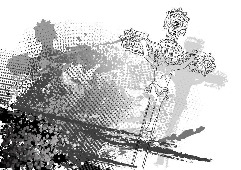 Jesus royalty-vrije illustratie