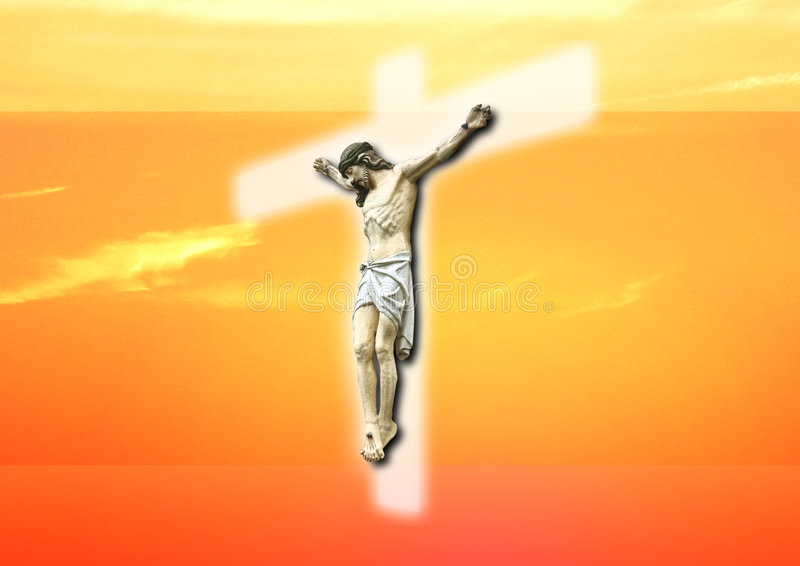 The jesus stock illustration