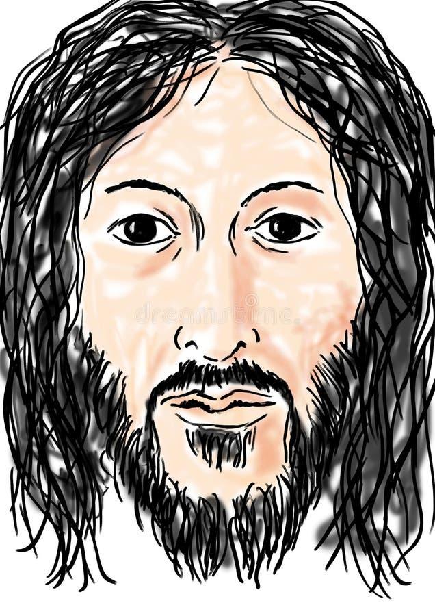 Jesus ilustração royalty free
