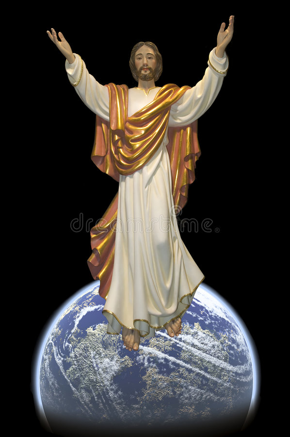 jesus royalty ilustracja