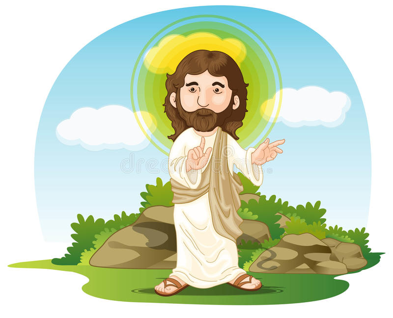 Jesus vector illustratie