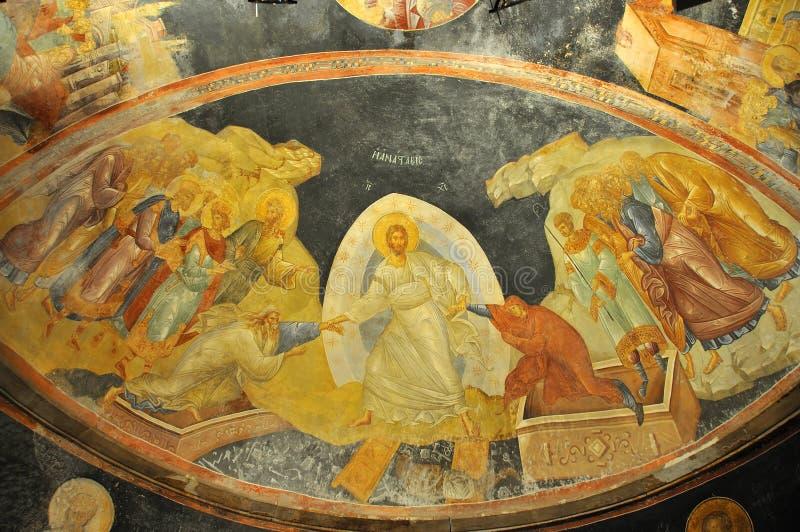 Jesus, Adam en Vooravond royalty-vrije stock afbeeldingen