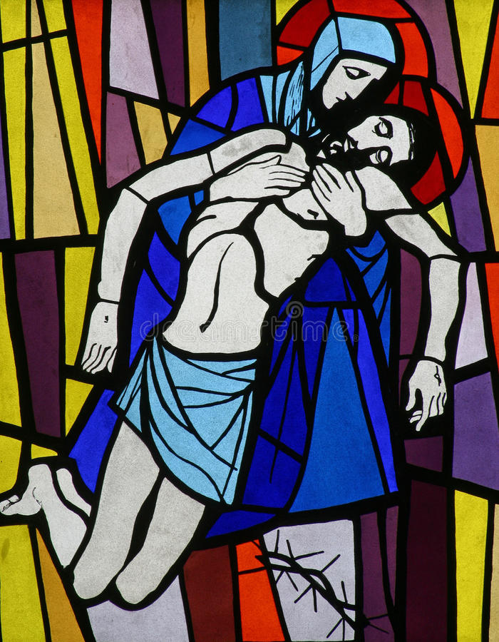 Download Jesus' Body Is Removed From The Cross Stock Image - Image: 13626765