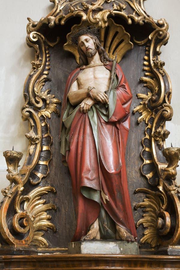 Download Jesus in the bond stock image. Image of mediator, christ - 22907371