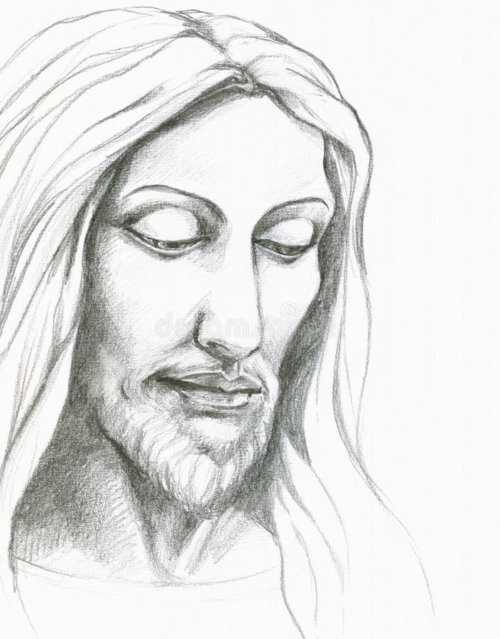 Download Jesus Christ stock illustration. Illustration of bearded - 20670280