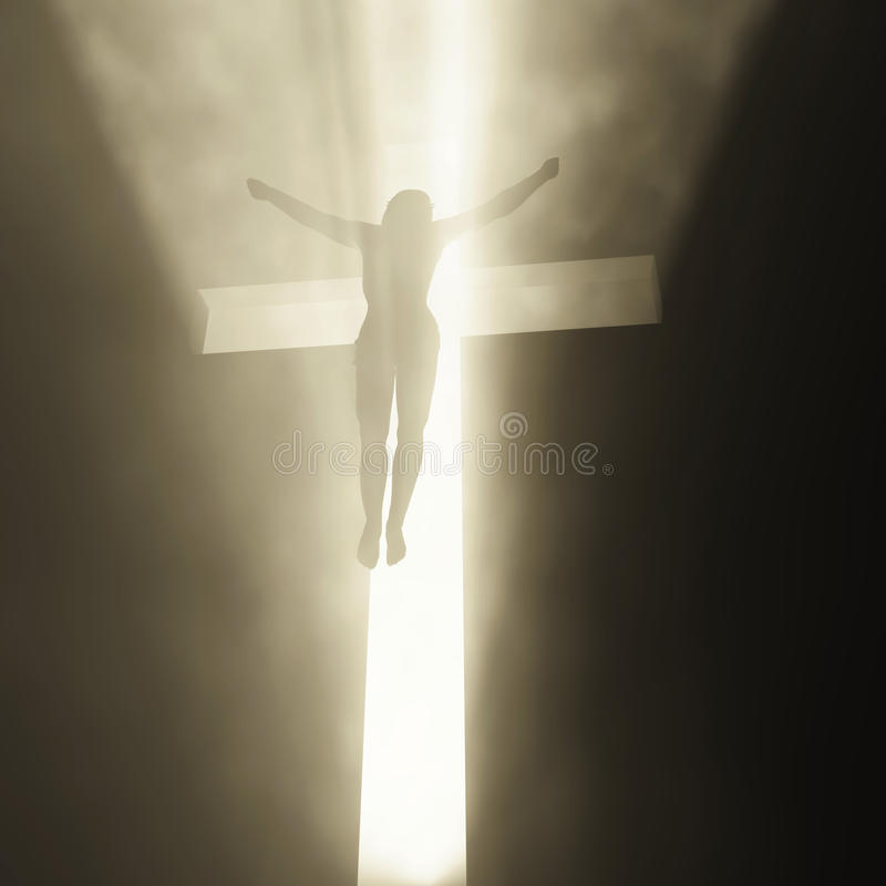 Jesus Christ Arisen Stock Image
