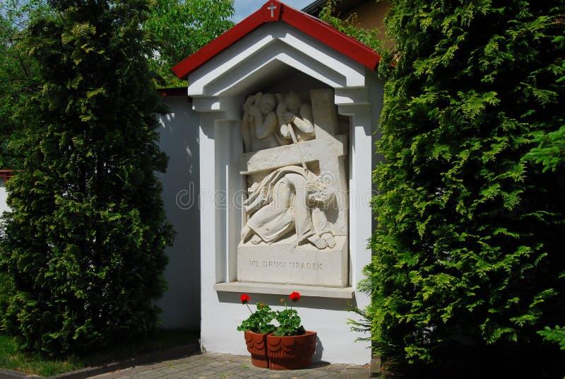 Jesus Christ, bas-relief image libre de droits