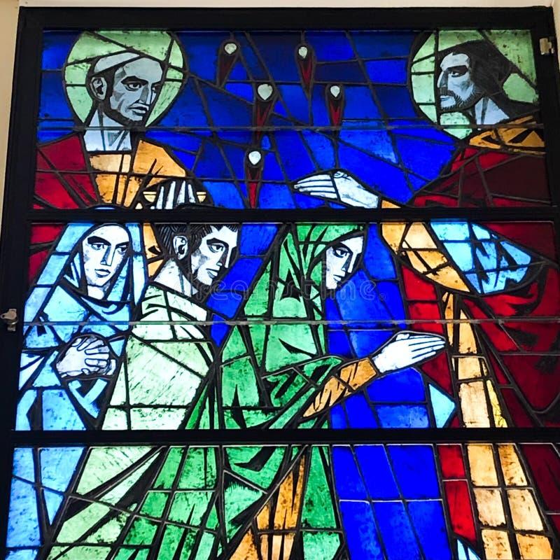 Jesus Christ bendice a sus discípulos fotos de archivo