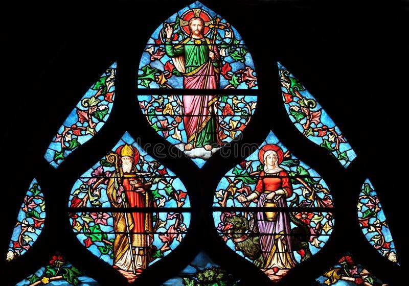 Jesus Christ, bispo santamente Lazarus? , St Martha fotografia de stock