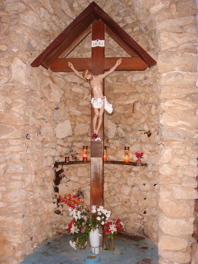 Jesus Christ chapel royalty free stock photography