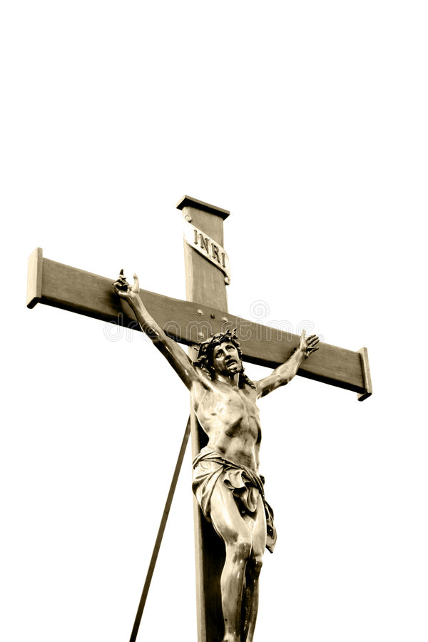 Download Jesus Christ crucified stock image. Image of condemn, death - 6428799