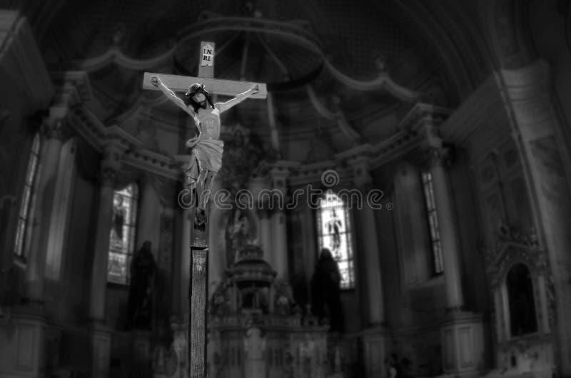 Jesus Christ Crucify fotografering för bildbyråer