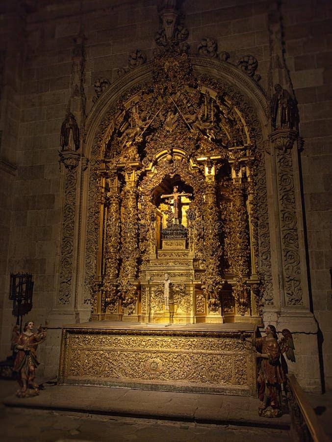 Jesus Christ in de Kathedraal van Salamanca royalty-vrije stock fotografie