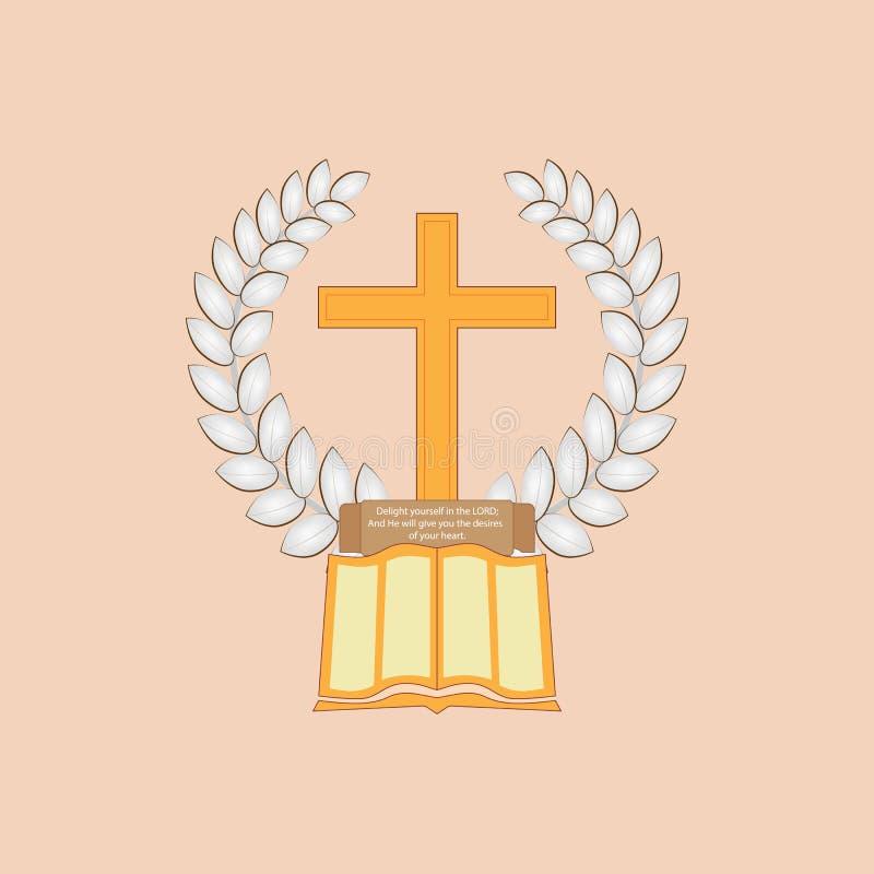 Jesus Christ es el pan de la vida libre illustration