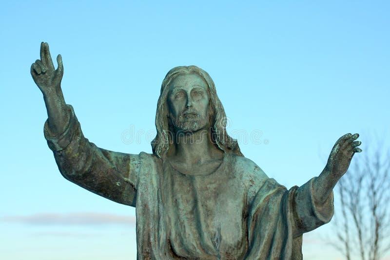 Jesus Christ figure stock image