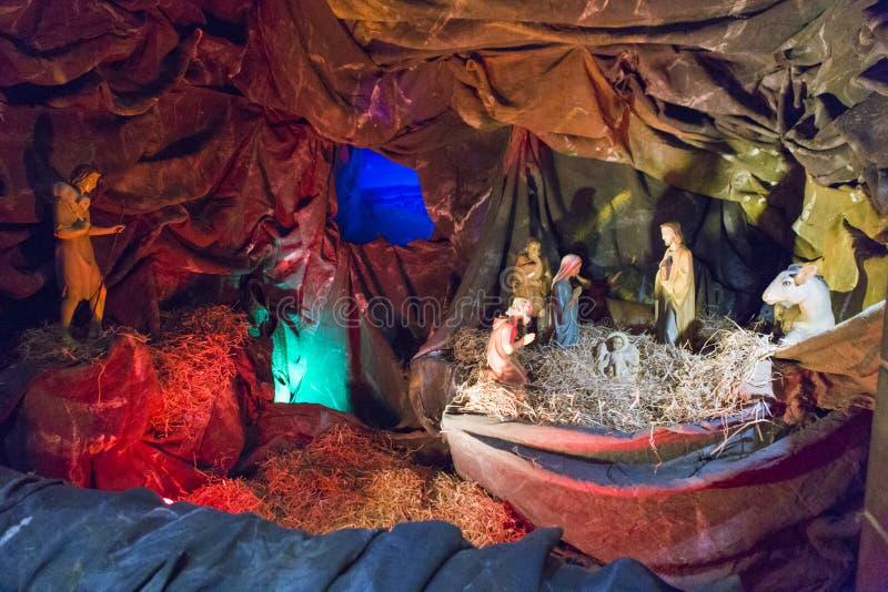 Jesus Christ-Geburtsfigürchen stockbilder