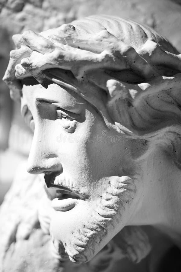 Jesus Christ-gezicht royalty-vrije stock foto