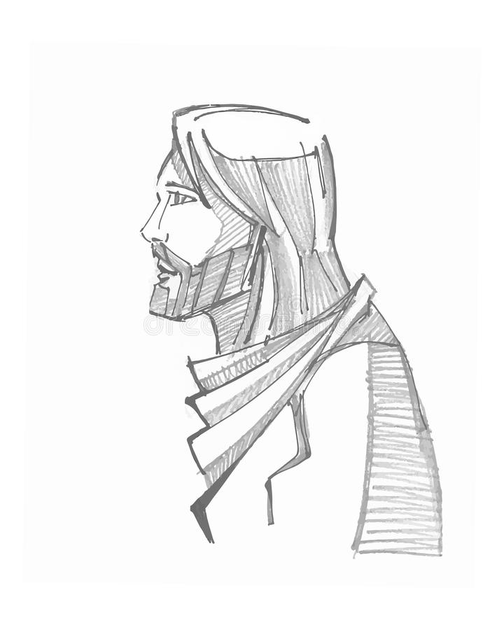 Jesus Christ stock illustration