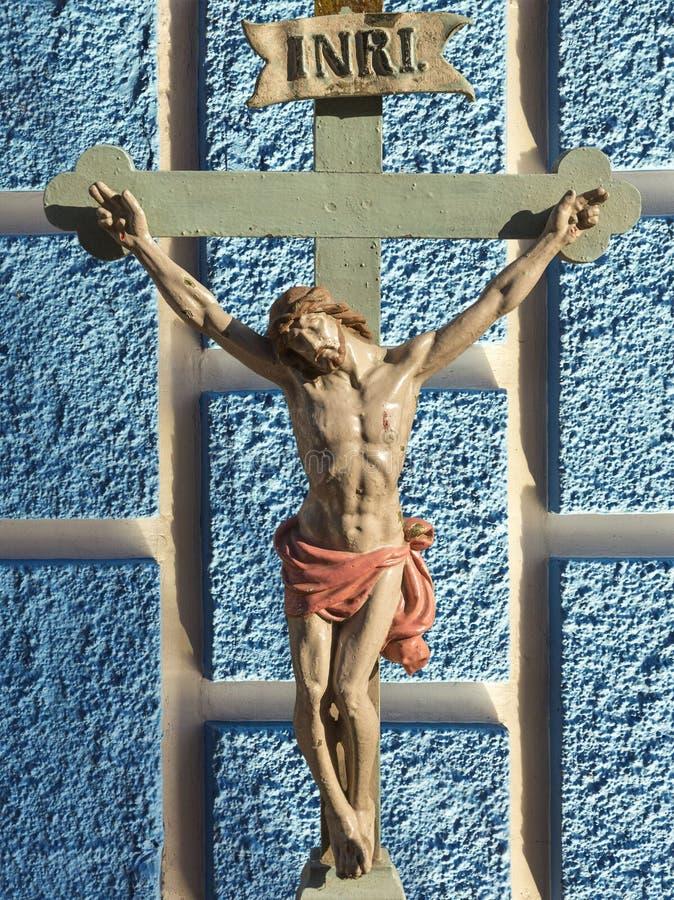 Jesus Christ INRI fotografía de archivo libre de regalías