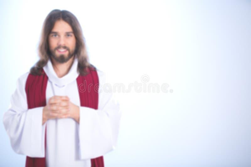 Jesus Christ-Lächeln stockfotografie