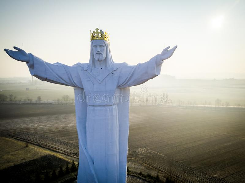 Jesus Christ o rei foto de stock royalty free