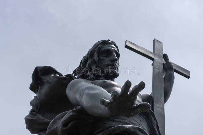 Jesus christ the redeemer stock photography