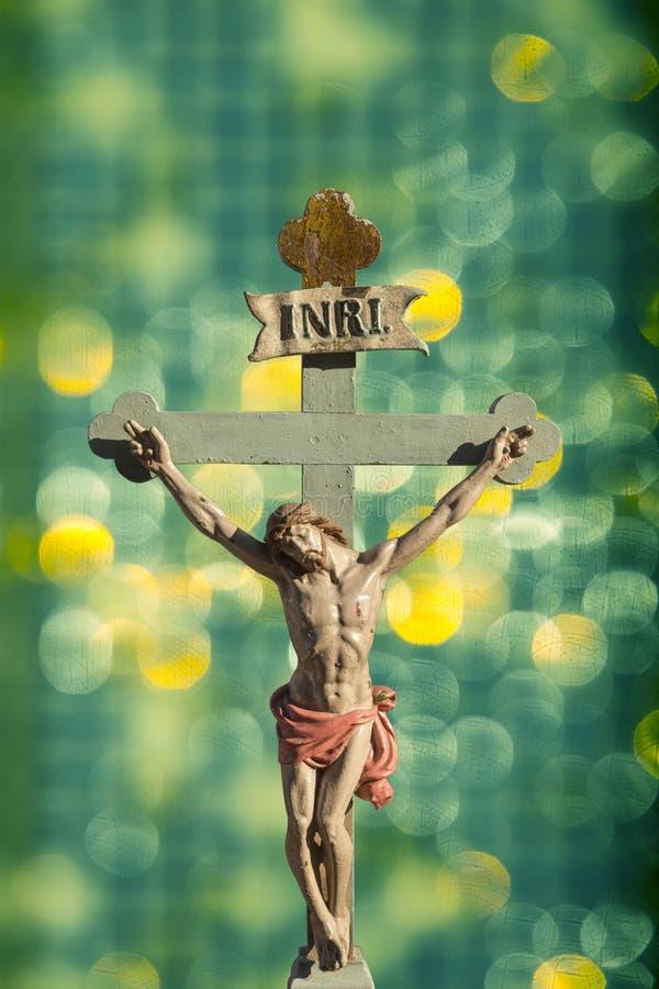 Jesus Christ-Retter von Christen stock abbildung