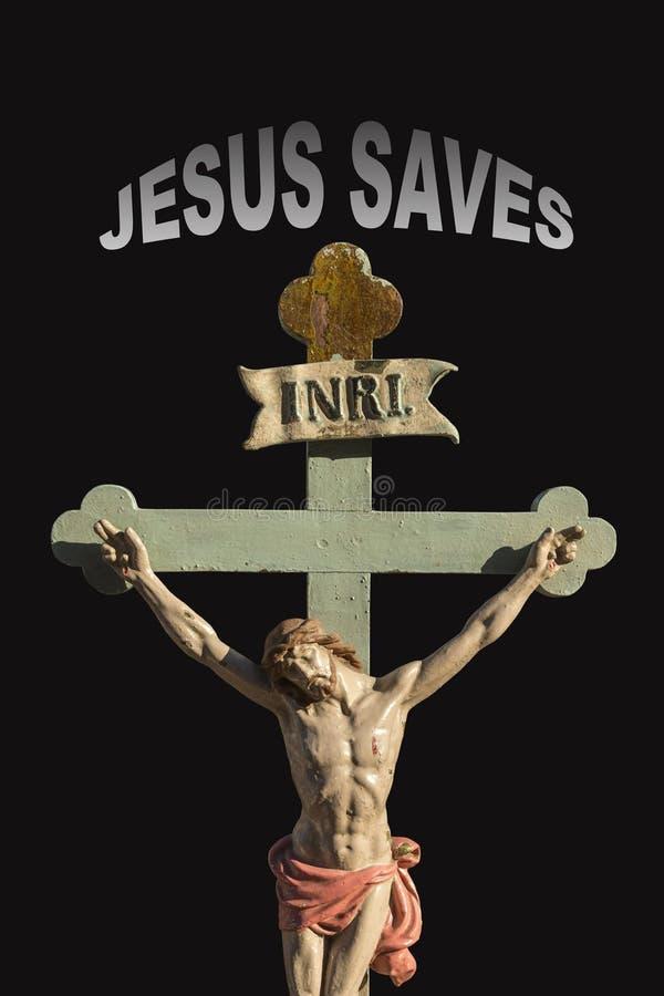 Jesus Christ - salvación fotos de archivo