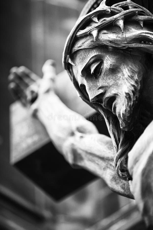 Jesus Christ Sculpture fotos de stock