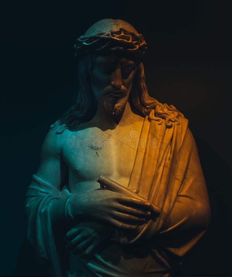 Jesus Christ statue royalty free stock image