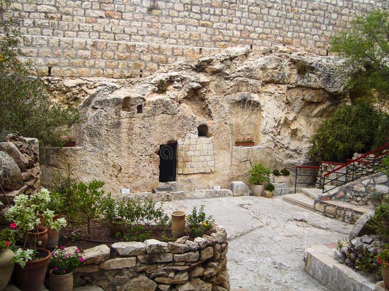 Jesus Christ Tomb fotografía de archivo libre de regalías