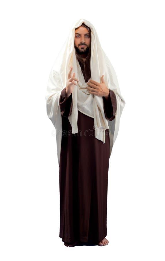 Jesus Christ in voller Länge lizenzfreie stockfotos