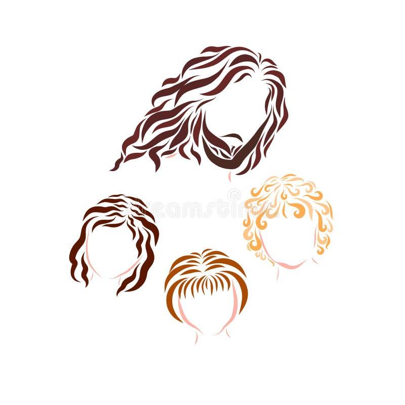 Jesus Christ y niños, modelo libre illustration