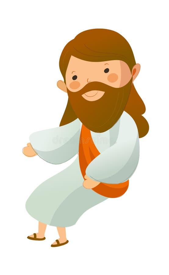 Jesus-Christus vector illustratie