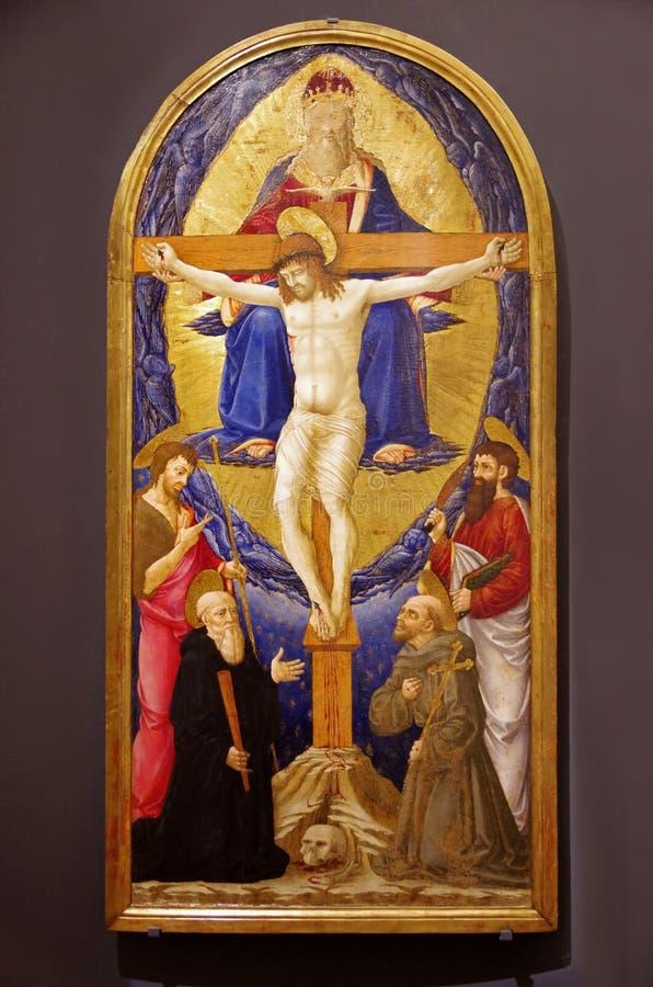 Jesus Christus auf dem Kreuz stockfotografie