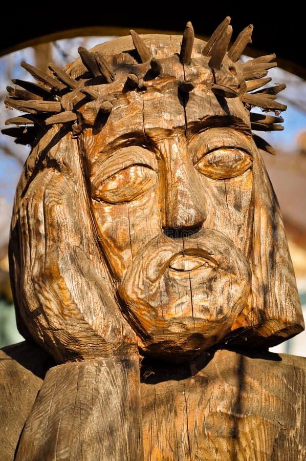 Jesus-Christus, de Man van Verdriet - volksart. stock foto