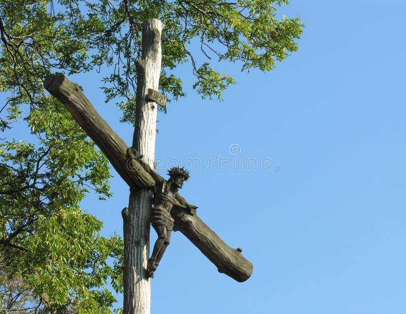 Download Jesus-Christus op Kruis stock foto. Afbeelding bestaande uit kerk - 279178