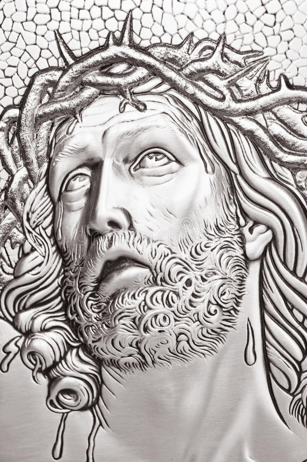 Jesus Christusportrait lizenzfreies stockfoto