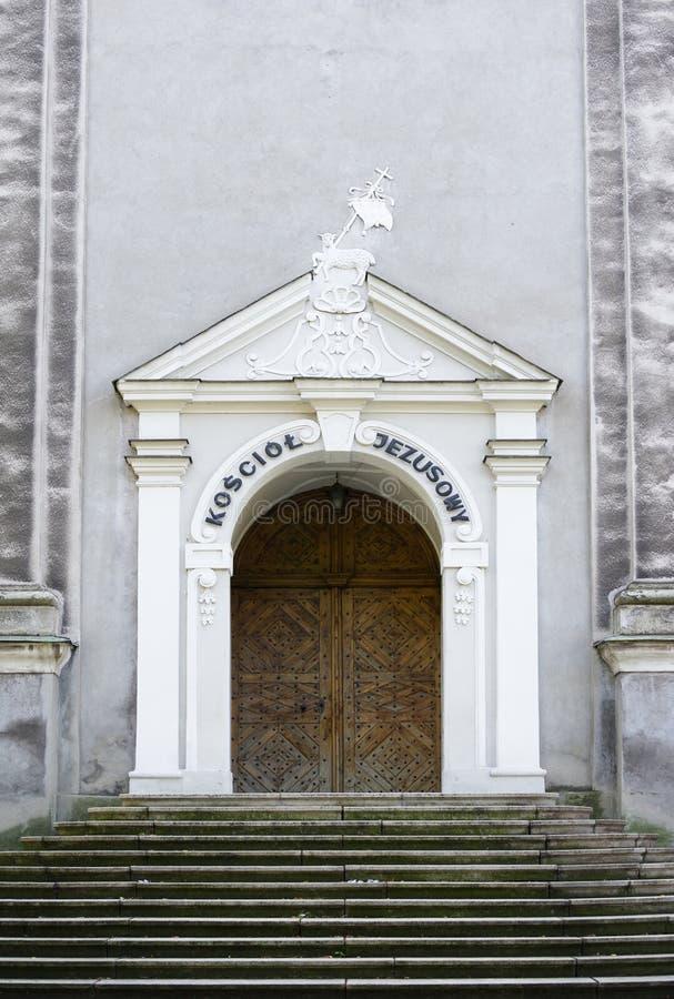 Jesus Church, Cieszyn fotografía de archivo libre de regalías