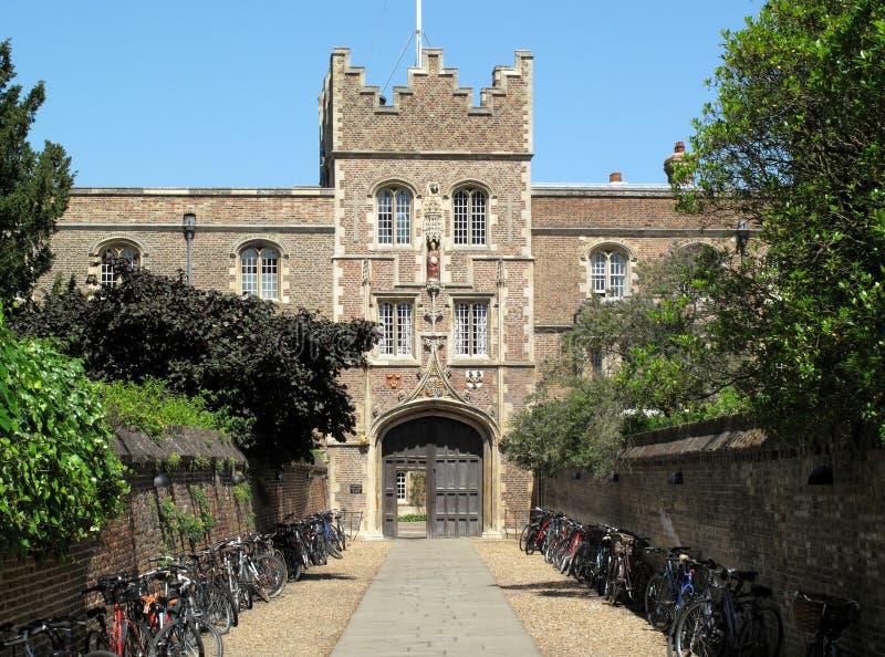 Jesus College Cambridge University royalty free stock image