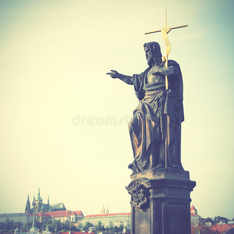 Jesus com cruz fotos de stock royalty free