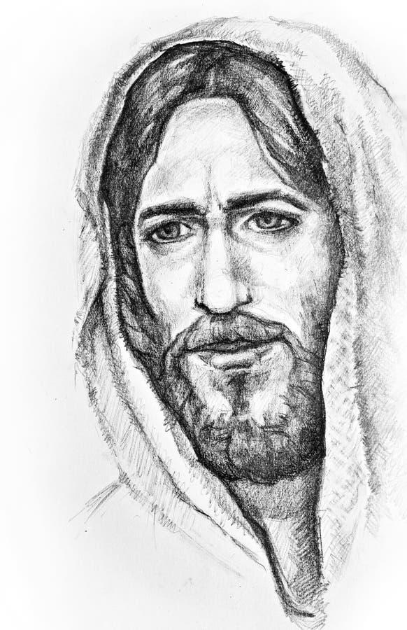 Jesus Cristo de Nazareth ilustração royalty free