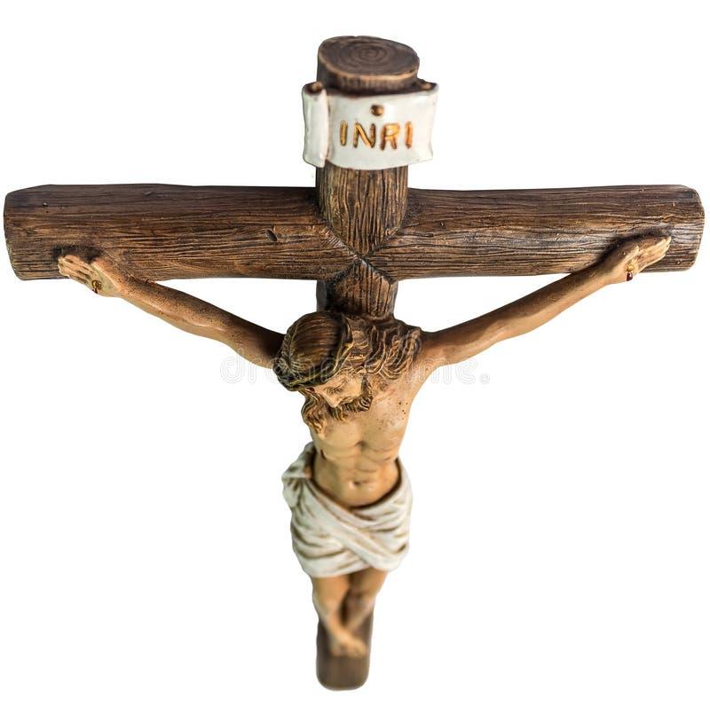 Jesus Cristo na cruz foto de stock royalty free