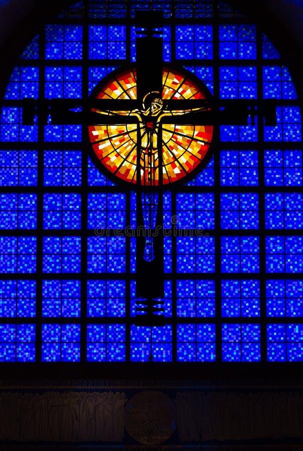 Jesus Cross - Brasil fotografia de stock