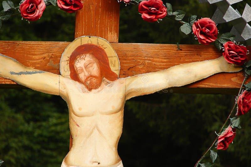 Jesus cross Crucifixion stock photo