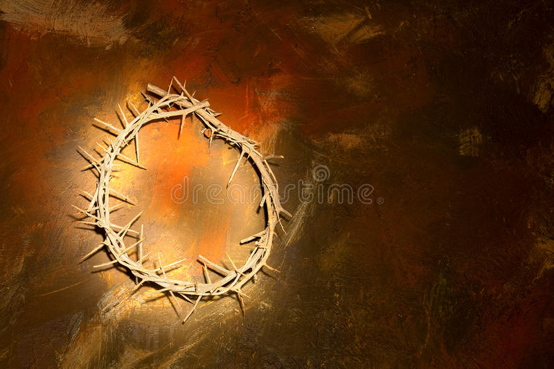 Download Jesus crown stock photo. Image of thorns, holy, friday - 13090574